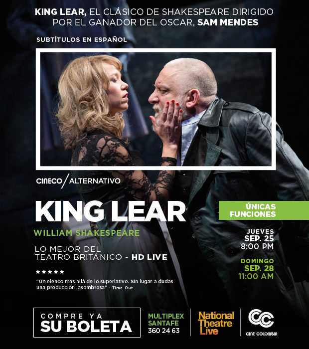 Banner King Lear